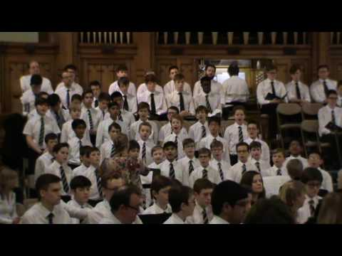 Cantate Domino - Junior Choir, Christmas Festival 2016