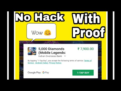 |MLBB| How To Get Diamonds For Free |2018 edition|
