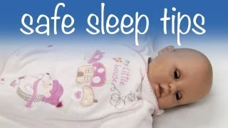 Safe sleep tips for your baby | Risks of swaddling