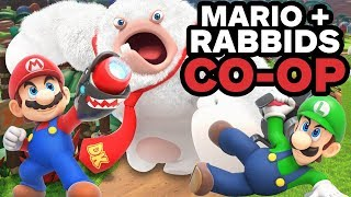 20 Minutes of Mario + Rabbids Co-op Gameplay
