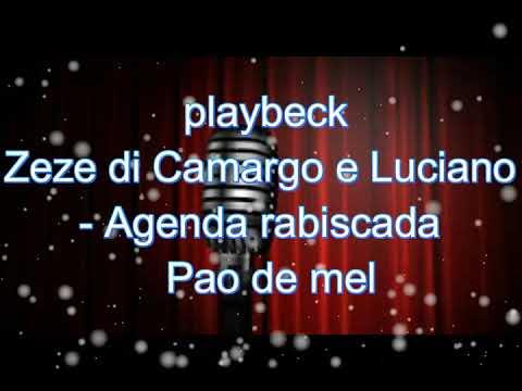 karaoke  Agenda rabiscada  Pao de mel