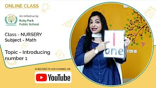 Introducing Number 1 | Mathematics for Nursery Students | Ruby Park Public School Thumbnail
