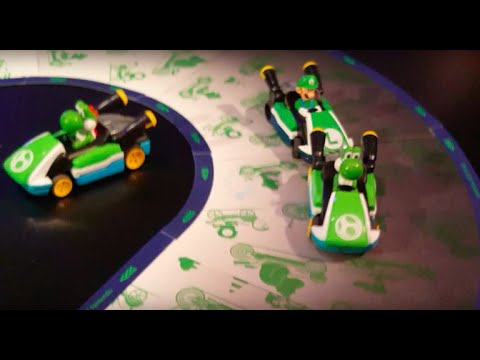 Mario Kart gets real with Hot Wheels' smart racetrack