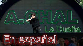 La Dueña   A. Chal   Español Lyrics