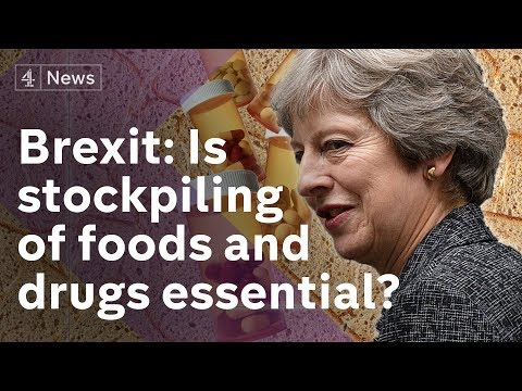 Brexit: Is stockpiling of foods and drugs reassuring?