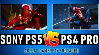 𝗣𝗦𝟱 Gameplay (𝗣𝗦𝟱 vs 𝗣𝗦𝟰 Pro Comparison) Playstation News Update (Release, Graphics & MORE)
