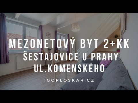 Video z << Prodej bytu 2+kk, 55 m2, Šestajovice >>