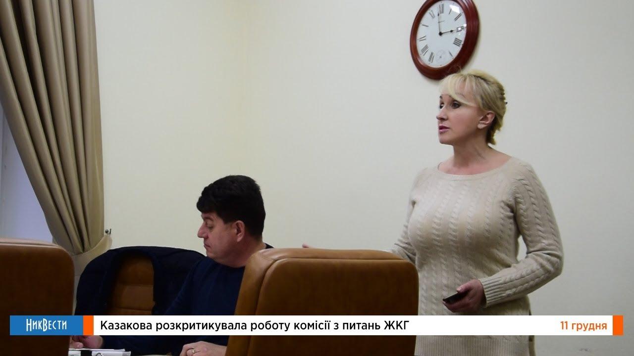 Казакова раскритиковала работу депутатов на комиссии ЖКХ