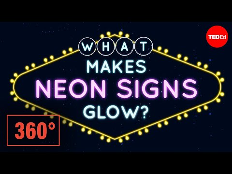 Neon Lights: a Beautiful Union of Science and Art