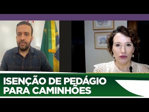 André Janones defende isenção de pedágio para caminhões durante pandemia - 01/04/20