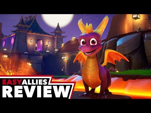 Spyro Reignited Trilogy - Easy Allies Review - YouTube video thumbnail