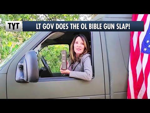 Lt Gov Does The Ol Bible Gun SLAP!