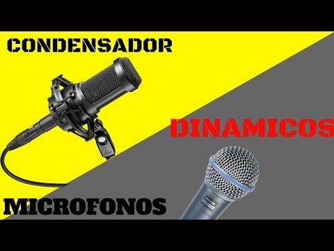 Tipos de Micrófonos que Puedes Usar  si tienes un *** SONIDO EN VIVO***