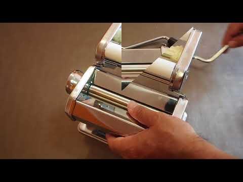 Levivo SET115009 - Maquina de pasta, Rodillo Tallarin, espaguetti, ravioli