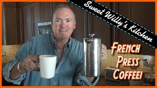 How-to Use French Press Coffee Maker - Ecooe Stainless Steel 34 oz. Press Pot Review
