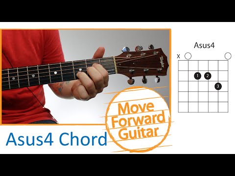 Guitar Chords for Beginners - Asus4