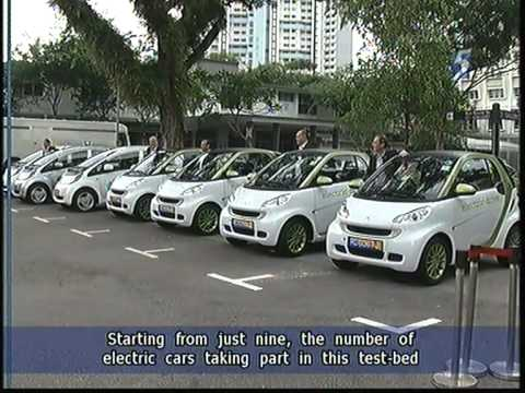 Singapore Launches Electric Vehicle Test-bed - 25Jun2011