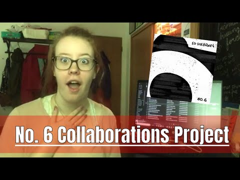 *REACTION* Ed Sheeran No. 6 Collaborations Project