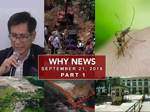 [UNTV]  UNTV: Why News (September 21, 2018) Part 1