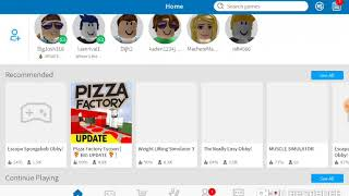 Roblox (I burnt two pizza I don