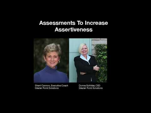 Assessments to Increase Assertiveness