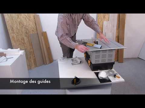 Scie de table - ENERGYSAW-165ASP 132006 - Assemblage & Utilisation