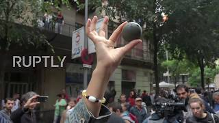 Spain: Police curbs Barcelona voters with rubber bullets as referendum violence escalates