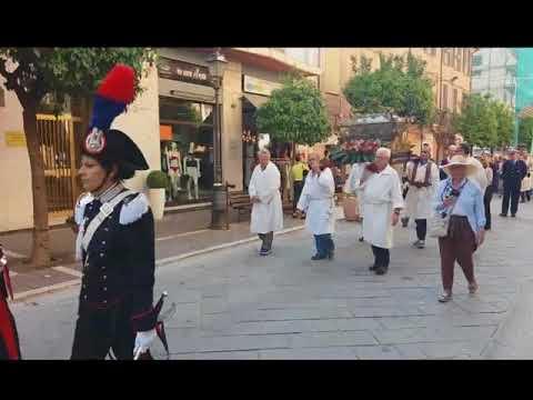 ALASSIO: PROCESSIONE PER LA FESTA SOLENNE DEI 'CORPI SANTI'