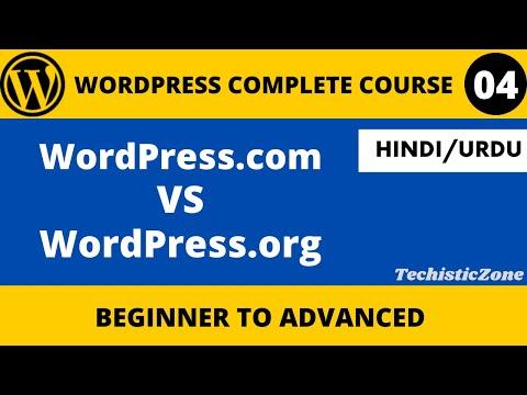 WordPress.com Vs WordPress.org  in Hindi-Urdu || WordPress Tutorials in Hindi/Urdu [2021]