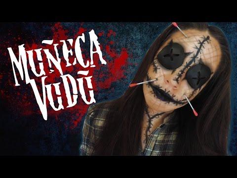 Maquillaje MUÑECA VUDÚ Halloween |Viernes de DIY| Annie Cusp