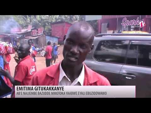 Abauubuzi e Najjembe bafunye emmotoka pulezidenti gy'eyabasubiza