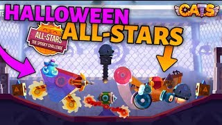 HALLOWEEN ALL-STARS - THE SPOOKY CHALLENGE GAMEPLAY - C.A.T.S: Crash Arena Turbo Stars