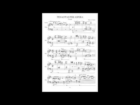 Tenacitas Per Aspera - an original piano prelude in the style of Claude Debussy.
