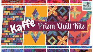 New Collaboration With Spirit In Kaffe Fassett Fabrics! Check Out These Rainbow Quilt Kits ...