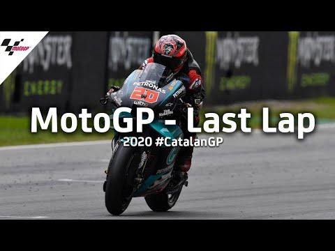 MotoGP カタルーニャGP 最終ラップのレースをおさめた動画