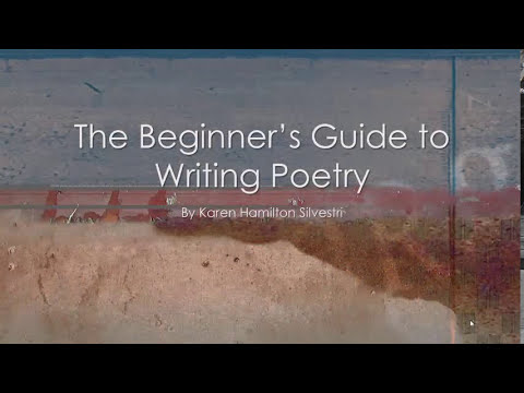Beginner's Guide to Writing Poetry Introduction - YouTube