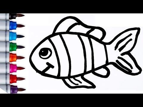 Cara Mewarnai Gambar Ikan Di Laut Mewarnai Cerita Terbaru Lucu Sedih Humor Kocak Romantis