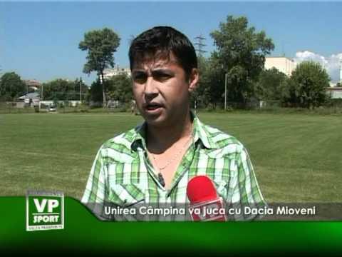 Unirea Câmpina va juca cu Dacia Mioveni