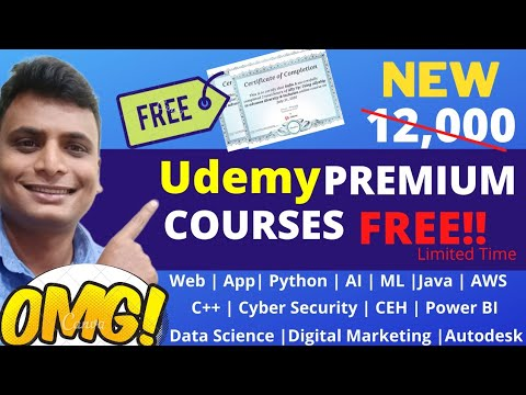 Free Udemy Courses With FREE Certificates | Students | Freshers ...