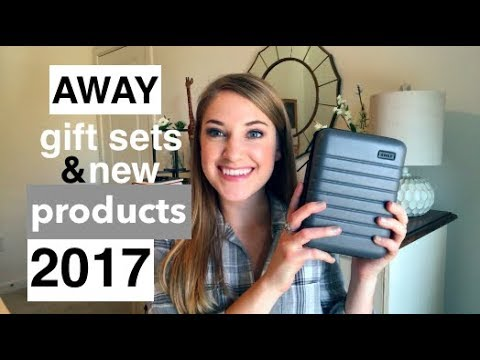 AWAY Travel Gift Sets 2017 | New AWAY Luggage Products | This or That
