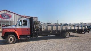 1988 International S1600 Flatbed/Septic Truck