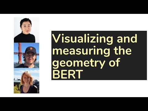 Visualizing and measuring the geometry of bert
