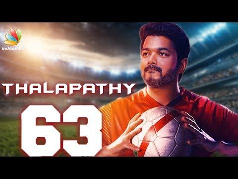 Vijay 63 Trailer Nayanthara, Atlee,Arun Vijay & Thalapathy