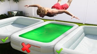 DONT Belly Flop into the Wrong Pool!! *WARNING GROSS*