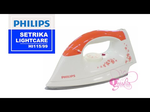 Philips Setrika HI115/99 LightCare, UNBOXING and Review (Indonesia)