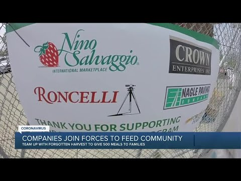 Metro Detroit companies raise $20K for 2-day food giveaway