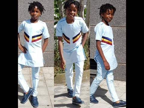 DIY: How to cut buba top/Traditional top/Nigerian Native Top For A Male Child {Well Detailed}