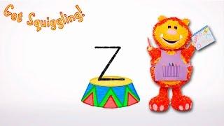 Get Squiggling Letters | Letter Z