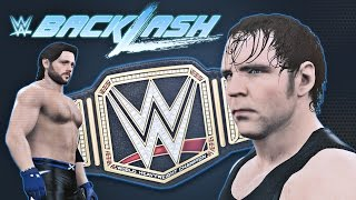 WWE 2K16 Backlash 2016 Promo