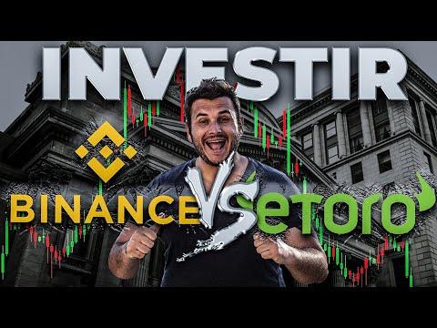 J'ai testé : Investir sur Etoro VS Investir Sur Binance J'ai testé : Investir sur Etoro VS Investir Sur Binance